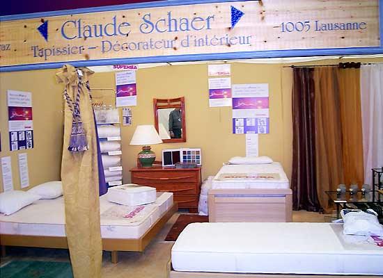 expositions claude schaer tapissier d corateur d coration d 39 int rieur magasin et atelier. Black Bedroom Furniture Sets. Home Design Ideas